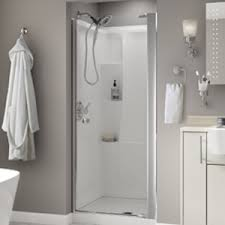 How To Install A Shower Door On A Bathtub Install Pivot Shower Door Garage Doors Glass Doors Sliding Doors