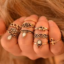 midi ring set aliexpress buy 10pcs bohemian midi ring set