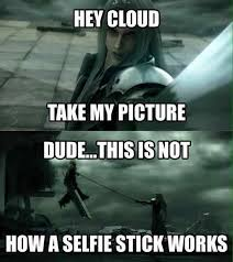 Game Memes - the cloud selfie stick video games video game memes pok礬mon go