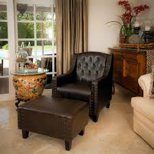 Decor Fantastic Chair And Ottoman Sets For Interior Design - Chairs with ottomans for living room