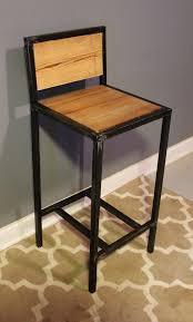 metal u0026 reclaimed wood bar stools no assembly necessary