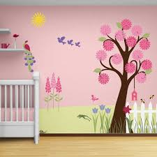 Best Tree Mural Bedroom Ideas Images On Pinterest Tree - Childrens bedroom wall painting ideas