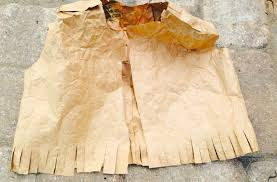 thanksgiving vest thanksgiving american grocery paper bag craft