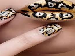 pink cheetah nail designs anna charlotta