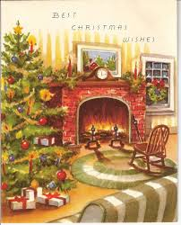 Victorian Christmas Card Designs 150 Best Holiday Christmas Fireplace Images On Pinterest