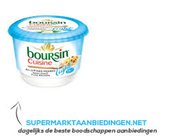 boursin cuisine light boursin cuisine light supermarkt aanbiedingen