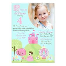 fourth birthday invitations u0026 announcements zazzle