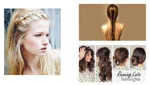 quick easy running late hairstyles easy hairstyle ideas