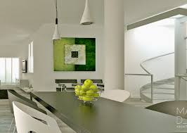 green white gray dining room interior design ideas