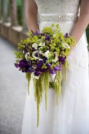 Flowers For November Wedding - purple and green fall wedding bouquet 275x413 best flowers for