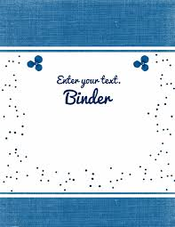 create your own planner template free binder cover templates blue