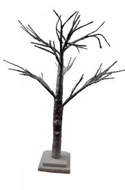 graham table decoration snowy twig tree