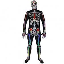 Skeleton Jumpsuit Ladies Sugar Skeleton Jumpsuit