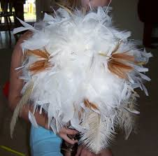 Feather And Flower Centerpieces by Feather Boa Centerpieces What Can You Do With A Paper Towel Roll