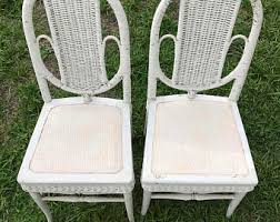 Antique White Chairs White Chair Etsy