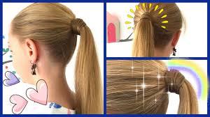 Hochsteckfrisurenen Ohne Haargummi by Mit Haaren Umwickeltes Zopfgummi 2 Varianten Ohne Haarnadeln