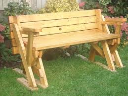 Free Woodworking Plans For Picnic Table by Picnic Table Bench Treenovation