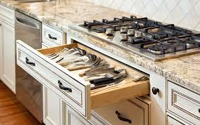 Granite Countertop  Southwest Style Cabinets Tile Backsplash - Magnetic backsplash