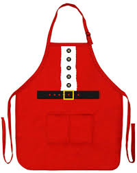 cooking gifts for mom amazon com santa apron mrs claus christmas gift for kitchen