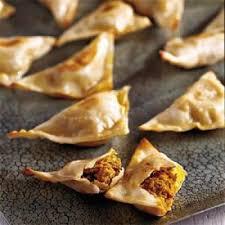 cuisine indienne recette chaussons à l indienne recettes de cuisine indienne