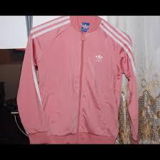 light pink adidas sweatshirt adidas sweaters light pink jacket poshmark