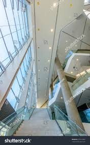 Modern Lobby Abstract Fragment Architecture Modern Lobby Hallway Stock Photo