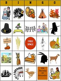printable thanksgiving bingo by bigdandme on etsy 2 50