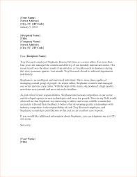 recommendation letters templates