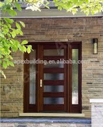 Sapele Exterior Doors Sapele Mahogany Solid Wood Entrance Doors Malaysia Wood Door