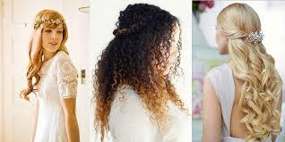 coiffure mariage cheveux les plus belles coiffures de mariée sur cheveux laches