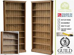 furniture home shelf bookcase with swing glass doors with solid