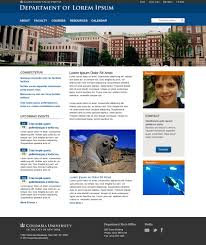 sample templates columbia university in the city of new york
