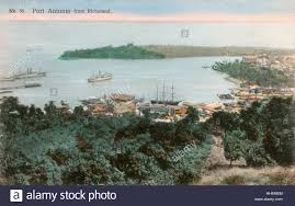 view of port antonio jamaica west indies from richmond with