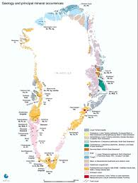 Greenland Map Greenland And Climate Change