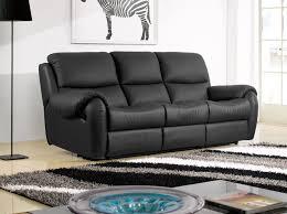 canapé canape cuir noir de luxe canapã fantastique canape cuir noir
