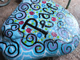 Where To Buy Rocks For Garden by Jez4u Custom Hand Painted Peace Garden Rock For Grandma Or Mom