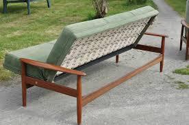 type de canapé canape de type scandinave en teck article vendu antiquités du