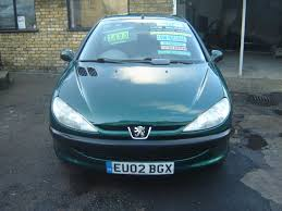 peugot 206 used peugeot 206 hatchback 1 4 lx 5dr electric sunroof in london