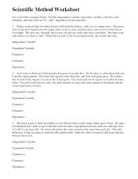 independent and dependent variables worksheet science worksheets