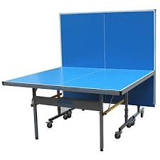2 piece ping pong table joola outdoor pro table tennis 2 piece table blue