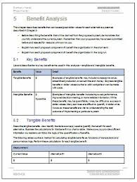 Cost Benefit Analysis Template Excel Cost Benefit Analysis Template