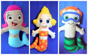 bubble guppies dolls pattern set u2013 ofnah