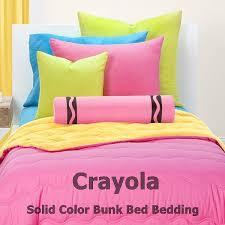 Bunk Bed Cap Crayola Solid Color Reversible Bunk Bed Cap Comforter Sets Bunk