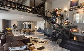 Apartment Stairs Design Warm And Inviting Loft Apartment In Praia Brava Brazil