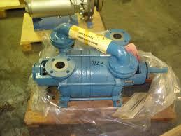 unused sihi model no 2612 vacuum pump 10631 jpg
