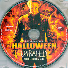 Halloween Remake Rob Zombie by Halloween 2007 Unrated Dc R1 Movie Dvd Cd Label Dvd Cover