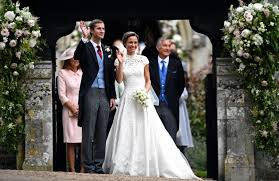 pippa middleton marries as royals look on entertainment news