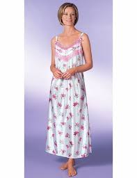 pack of two sleeveless nightdresses ladieswear nightwear