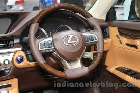 lexus steering wheel 2016 lexus es300h steering wheel at the 2015 gaikindo indonesia