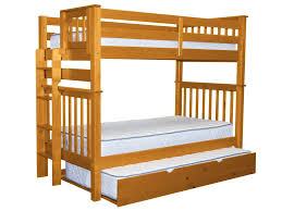 Bunk Bed With Trundle Bunk Beds Honey Trundle 349 Bunk Bed King